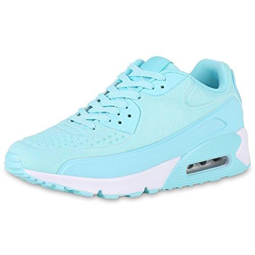 Femmes Napoli-mode Unisexe Chaussures De Sport Profil Semelle Des Course Fitness Coureurs Turquoise Jennika