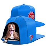 NAP CAP NBA Detroit Pistons Team Indoor Pet Bed, Blue (Large)