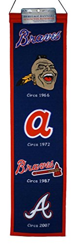 MLB Atlanta Braves Heritage Banner