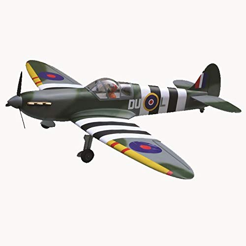 VMAR Spitfire 46/55 ARF Plane Kit - Fully Covered by POLYCOTE ECS and Power MOLDULE can be Adjustable.