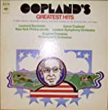Copland's Greatest Hits (El Salon Mexico; Appalachian Spring; Hoe Down; Celebration; Fanfare For The Common Man) / Aaron Copland, London Symphony; Leonard Bernstein, New York Philharmonic; Eugene Ormandy, Philadelphia Orchestra [Vinyl LP] [Stereo]