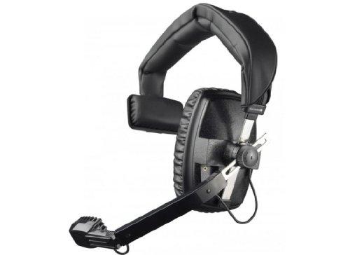 Beyerdynamic DT-108-200-400-BLACK Single-Ear Headset with Dynamic Hypercardioid Microphone, 400 Ohms, Black by beyerdynamic