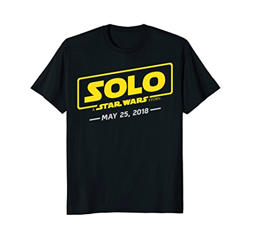 Star Wars Han Solo Movie Logo May 25, 2018 Graphic T-Shirt (Han Solo Don T Tell Me The Odds)