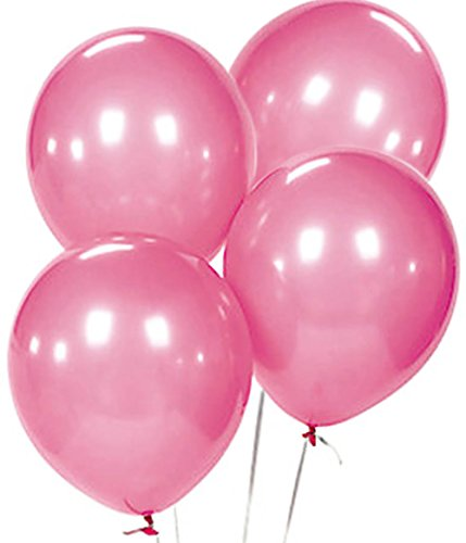 Custom, Fun & Cool {Big Large Size 12'' Inch} 1500 Bulk Pack of Helium & Air Latex Rubber Balloons w/ Modern Simple Celebration Party Special Event Decor Design [In Pastel Pink] by mySimple Products