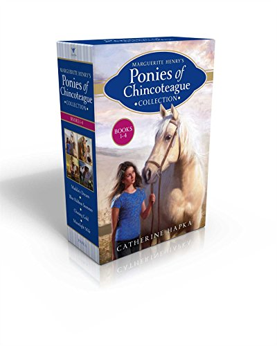 Marguerite Henry's Ponies of Chincoteague Collection Books 1-4: Maddie's Dream; Blue Ribbon Summer; Chasing Gold; Moonlight Mile