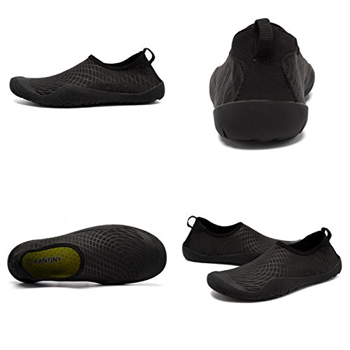 CIOR Wasser Schuhe Für Frauen Männer Outdoor Sport Slip On Multifunktionale Turnschuhe 12 Löcher Drainage System Quick Dry A1j.schwarz