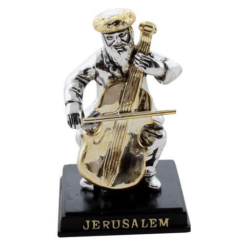 Bluenoemi Gifts Musician Figurine Jewish Gift Jerusalem Souvenir
