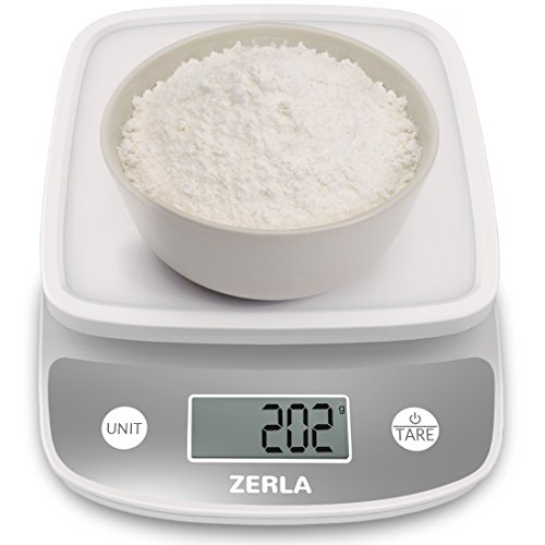 Digital Kitchen Scale by Zerla — Versatile Food Scale