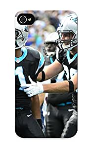 Georgemunoz Rugged Skin Case Cover For Iphone 5/5s- Eco-friendly Packaging(carolina Panthers Nfl Football T)
