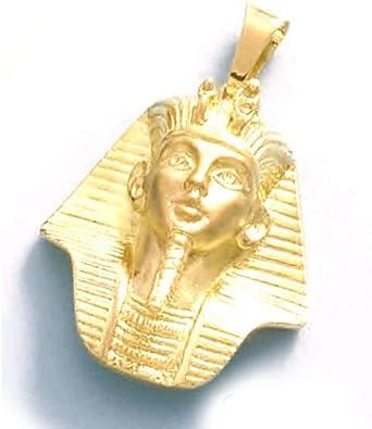 LIOR - Colgante Oro 18k (750) Tutankamon -13.1gr: Amazon.es: Joyería
