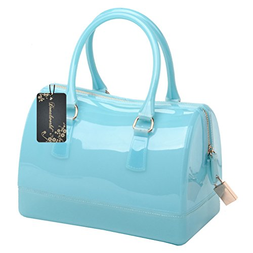 Jelly Purse Handbag (Donalworld Women Waterproof Jelly Pillow-shaped Bag Doctor Style Handbag)