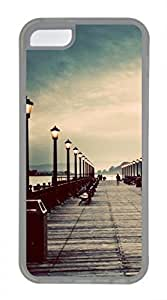 iPhone 5c case, Cute Pier Vintage iPhone 5c Cover, iPhone 5c Cases, Soft Clear iPhone 5c Covers