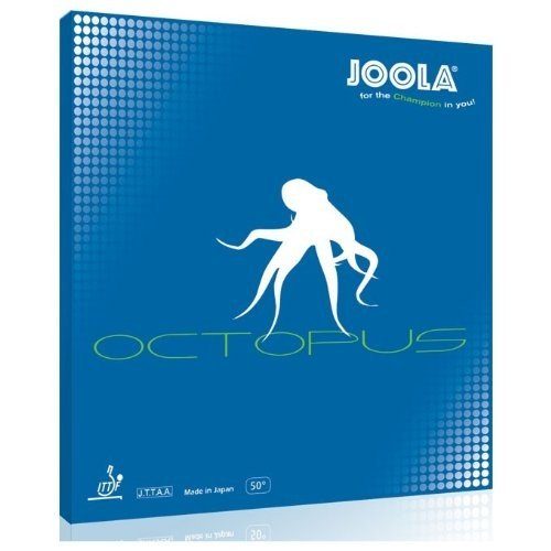 JOOLA Octopus Tennis Rubber (Red, 0.5 mm) by JOOLA