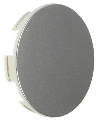 APDTY 010211 Center Cap Sold Individually For Select Honda/Acura Wheels (2.75 Inch Diameter; Snaps Into Wheel Center Hole; Silver Painted; No Logo) (Replaces 44732S6MA00, 44732S6MA01, 44732S9AA00) -
