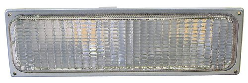 Chevy / GMC C / K 10 Truck 90-93 / Suburban / Blazer / Yukon 92-93 Parking Signal Light Lh US Driver Side Gray Composite Headlight Assembly (92 93 Chevy C/k Truck)