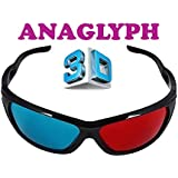 Gadget Hero's 3D Plastic Ana-Glyph Glasses Red/Blue, MarkIII.