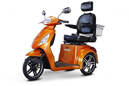 E-Wheels - EW-36 Full-Sized Scooter - 3-Wheel - Orange