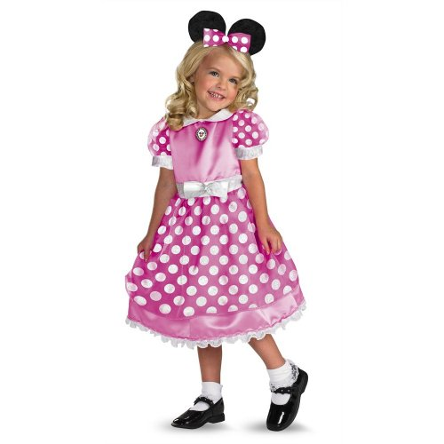 Minne Mouse Clubhouse - Pink Costume - Small (2T)
