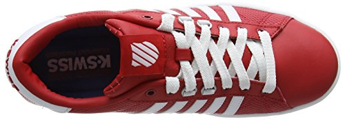 K-Swiss Hoke EQ CMF, Men's Low-Top Sneakers Rot (Frmlaone/Wht/Drkgum 644)