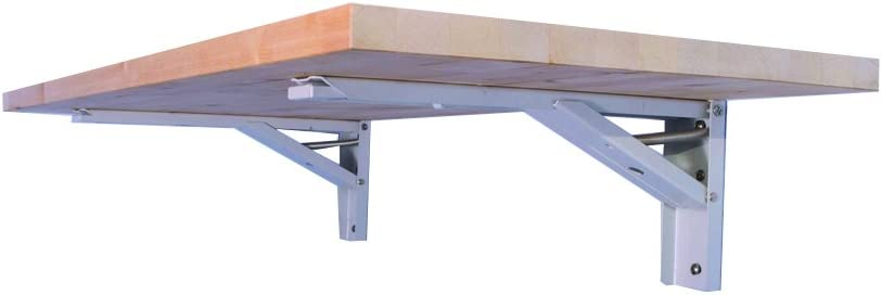 """The Quick Bench folding wall mounted workbench with 20"""" x 48"""""""