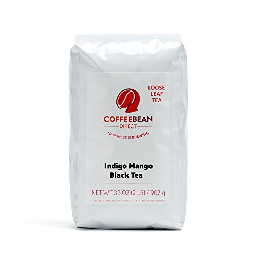 Coffee Bean Uninterrupted Mango Flavored Loose Leaf Tea, 2 Pound Bags (Pack of 2)