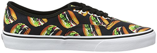 Vans Black Hamburgers Authentic Late Night AY1qrHYn