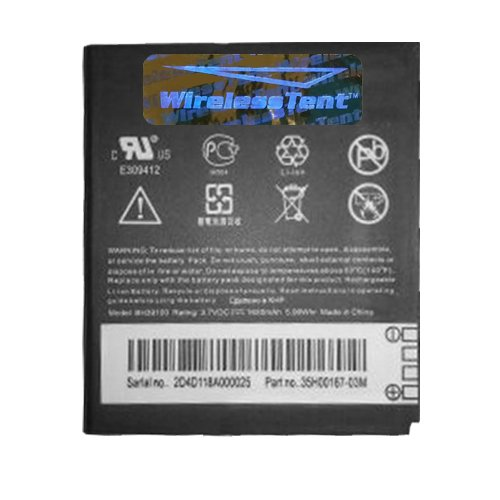 Replacement Generic Battery for HTC Vivid 4G, HTC Raider 4G ( BH39100 ) (Phones Batteries Htc Cell)