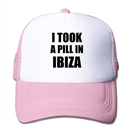 CYSKA Adult Casual Caps Hat I Took A Pill In Ibiza Trucker Cap Hat Pink (Mini Keurig In Pink compare prices)