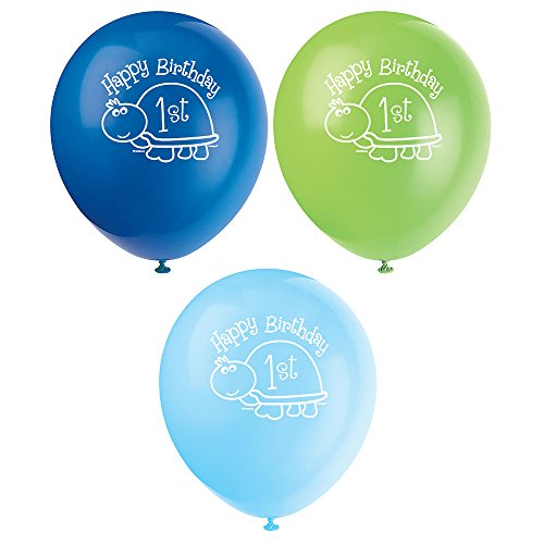 1st Birthday Latex Balloons - 3