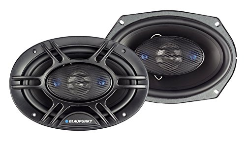 Blaupunkt 6 x 9-Inch 450W 4-Way Coaxial Car Audio Speaker, Set of 2 ()