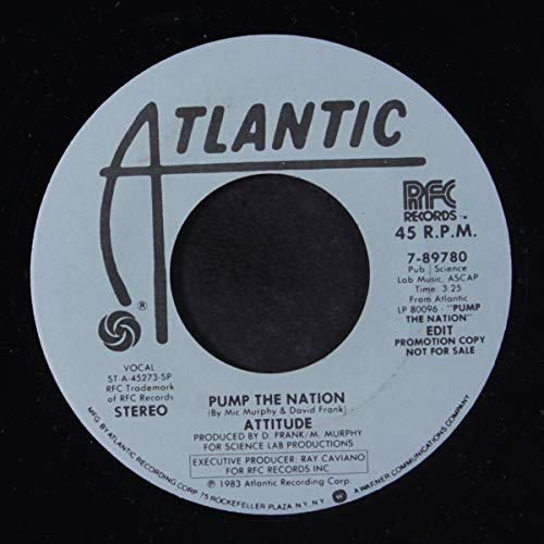 pump up the nation / same 45 rpm ()