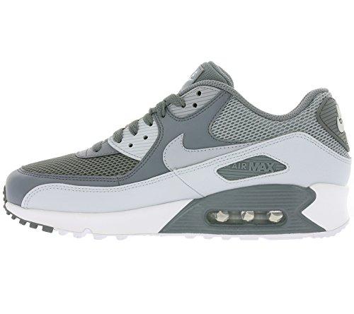 Nike Herren Air Max 90 Essentiële Laufschuhe Grau (koel Grijs / Wolf Grijs / Zuiver Platina / Wit)
