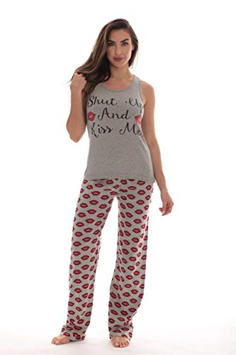 (Just Love Womens Pajamas Cotton Pants Set 6330-10383-XL )
