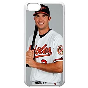 MLB Iphone 5C White Baltimore Orioles cell phone cases&Gift Holiday&Christmas Gifts NBGH6C9126080 by heywan