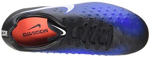 Nike 844415-015, Botas de Fútbol para Niños Negro (Black / White-Paramount Blue-Blue Tint)