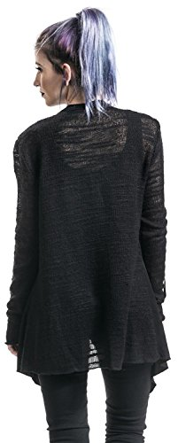 Forplay Material Mix Cardigan Cardigan chica Negro Negro