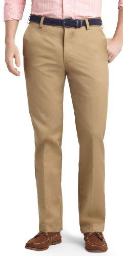 - IZOD American Chino Slim Fit Pants-31W 32L Khaki