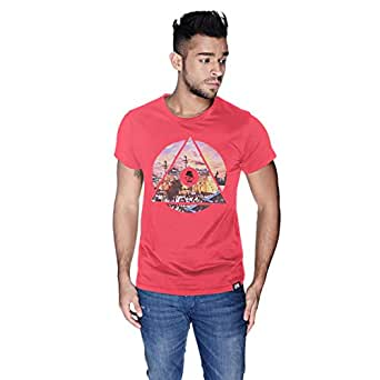 Creo Palestine T-Shirt For Men - M, Pink