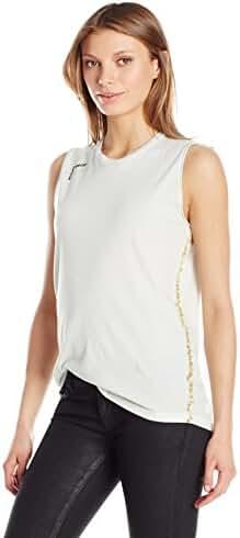 FREECITY Women's Rise Golden Pins Slvss T-Shirt