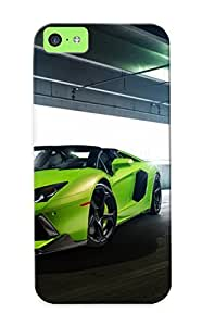 New Diy Design Verde Ithaca Lamborghini Aventador V 2014 For Iphone 5c Cases Comfortable For Lovers And Friends For Christmas Gifts