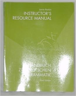 Book Handbuch Deutsch Gram Irm 3e by Jamie Rankin (2001-05-03)