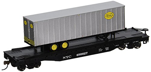 Bachmann Industries 52' with 35' Piggyback Trailer New York Central Flat Car, 6