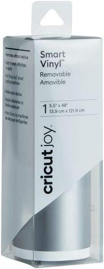 Adhesive Decal Roll Removable Cricut Joy Smart Vinyl Black 5.5 x 48