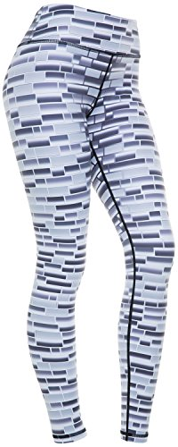 Women's Compression Pants (Brick - S) Best Full Leggings Tights for Running, Yoga, Gym by CompressionZ