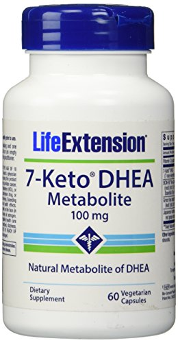 Life Extension 7 Keto Dhea 100 Mg Veg Cap, 60-Count