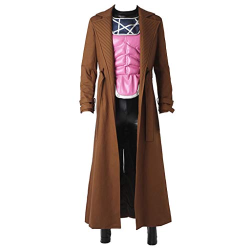 CosplayDiy Men's Outfit for Remy Etienne Gambit Cosplay Costume M -