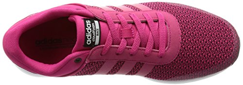adidas Cloudfoam Race W, Sneaker a Collo Basso Donna, Rosa (Rosfue/Rosfue/Ftwbla), 39 EU