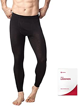 Lapasa Mens Thermal Underwear Pants (Black)