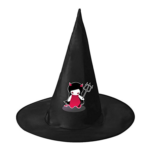 Make Devil Costume Homemade (Red Eye Demon Cosplay Witch Hat Toy to Costume Accessory Halloween Ball for Kids Adults)