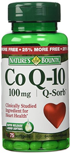 Natures Bounty Q Sorb Q 10 Softgels